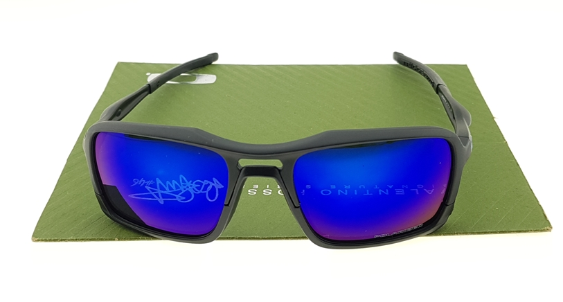 Triggerman Matte Black Lens Blue