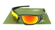 OAKLEY SG Scalpel Polished Black Lens Fire
