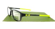 Oakley Chamfer Matte Black Lime Green