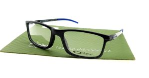 Oakley Pitchman Matte Black Blue
