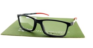 Oakley Pitchman Matte Black Red