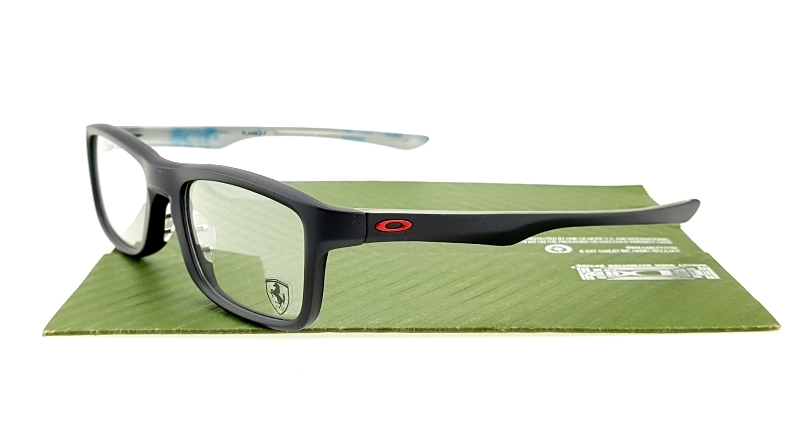 Oakley Plank 2.0 Satin Black Red