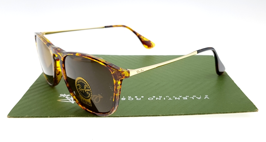 RayBan 4187 Chris Lensa Kaca (Tortoise Brown)