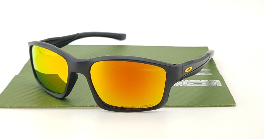 Oakley Chainlink Black VR46 Lens Fire