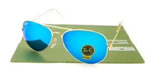 RAYBAN Aviator 3026 Gold Lens Tosca CRB
