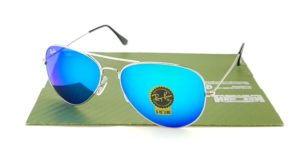 RAYBAN Aviator 3026 Silver Lens Tosca CRB