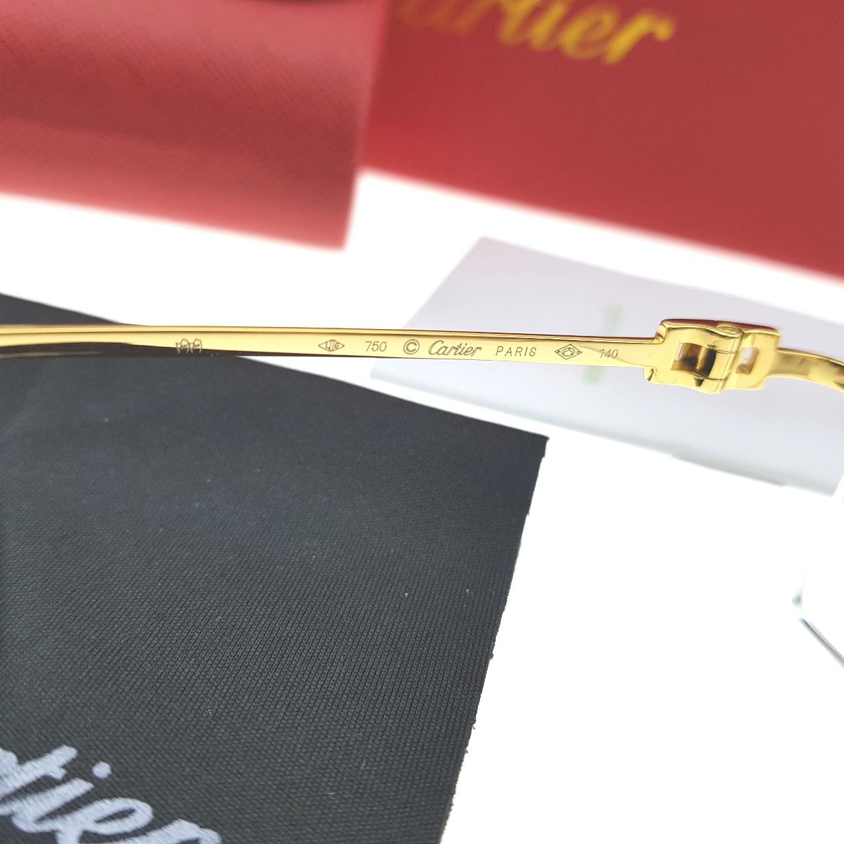 Cartier Premium 345890 Gold Plate