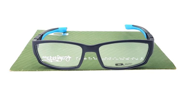 Frame Kacamata Oakley Scalpel Matte Black Blue