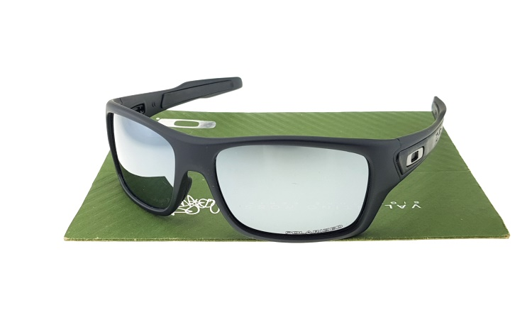 Oakley Turbine Matte Black Lens Mirror