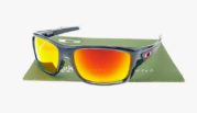 Oakley Turbine Grey Clear Lens Fire