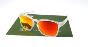 Oakley Latch Square Matte Clear Lens Fire