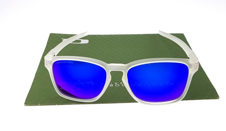 Oakley Latch Square Matte Clear Lens Blue