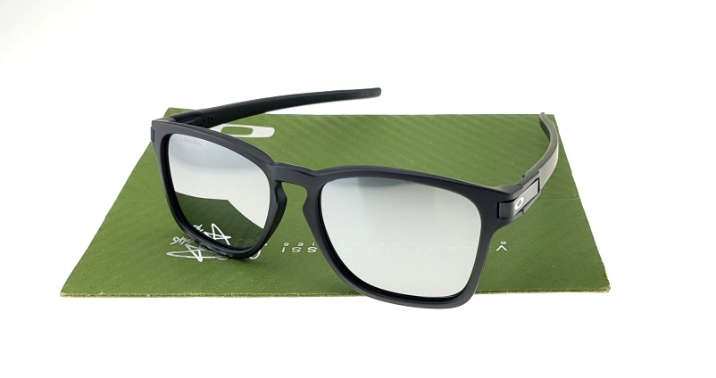 Oakley Latch Square Matte Black Lens Mirror