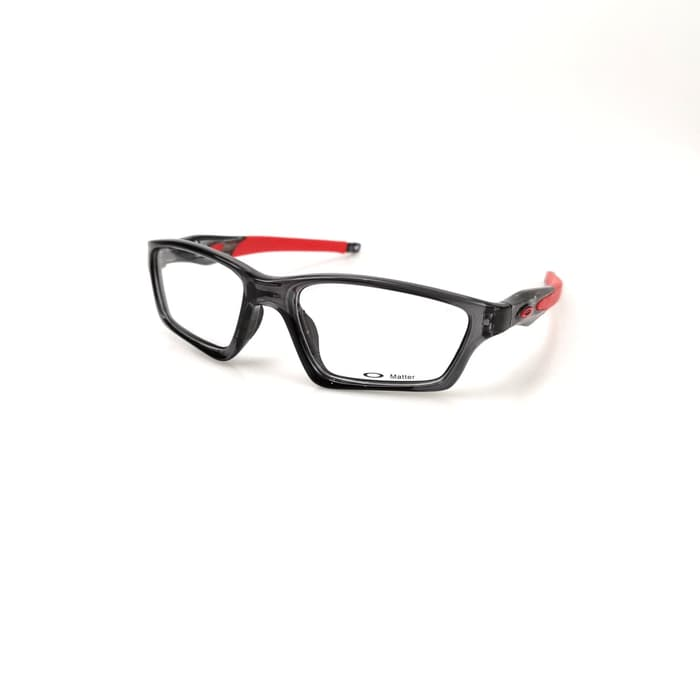 Oakley Crosslink Sweep Grey Smoke Red