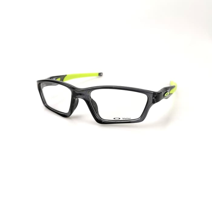 Oakley Crosslink Sweep Grey Smoke Lime Green