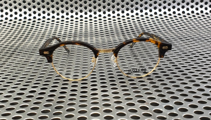 Moscot Aidim Polished Tortoise Gold
