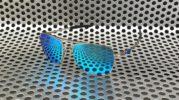 Kacamata Oakley Deviation Silver Blue