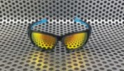 Sunglass Oakley Scalpel Black Blue Fire