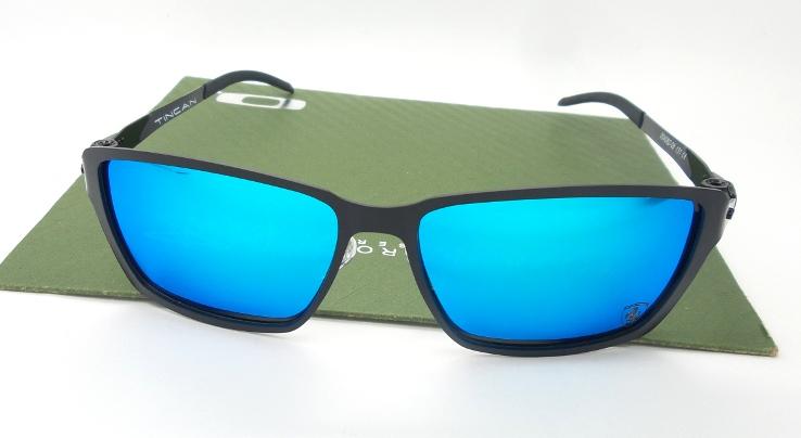 TINCAN Black Ferrari Lens Blue