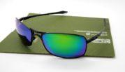 OAKLEY Crosshair 2.0 Black Lens Emerlard