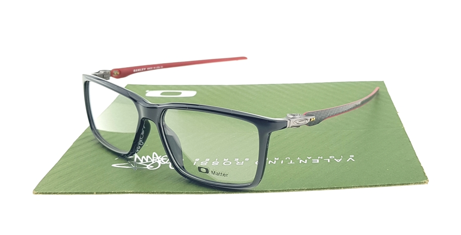 Oakley Pitchman Carbon Polished Black Red