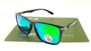 Ray Ban 4129 Highstreet Carbon Matte Black Lens Green Polarized